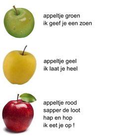 versje: appeltje groen