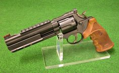 """Smith & Wesson 586 -(3) 6""""Zoll 357 Mag Shooters-Exclusive Edit. BLACK-DIAMOND TARGET Centra LPA Nill"""