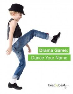 Dance Your Name Theatre Game
