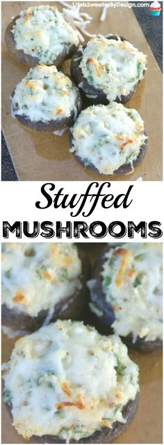 Stuffed Mushrooms are a delicious appetizer for game day or parties any time of year! This Spinach and Cheese Stuffed Mushroom recipe has some added nutrients with fresh mushrooms and fresh spinach inside! Here is a finger food that won't stay on the platter for long! #SamsClubMag #ad