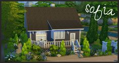 Mod The Sims - Sofia - traditional Finnish house $65k