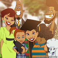 sositomaske: The Proud Family - Penny's Graduation <<< This is one of the best shows Disney ever did Black Love Art, Black Girl Art, Art Girl, Black Tv, Black Girls, Black Cartoon Characters, Black Girl Cartoon, Dope Cartoons, Dope Cartoon Art