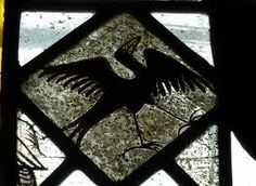 medieval bird stained glass - Google Search