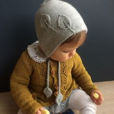 Ravelry: Bonnet for autumn/Lue til høsten pattern by Marion Alseth