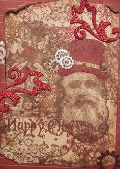 steampunk santa by ms art