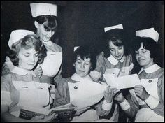 Back in the day.. NHS nurses