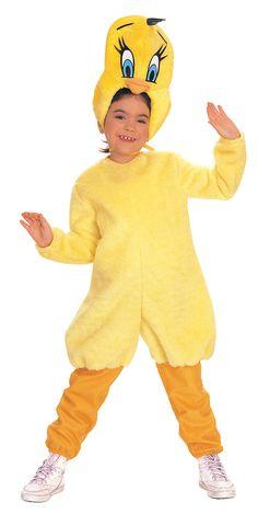 Disfraz de Piolín™ niño. Disponible en www.vegaoo.es