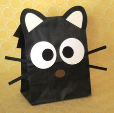 Chococat goodie bags! I think I'll make some of these too!