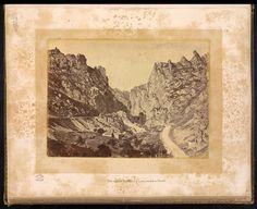 Peña horadada en Pancorbo 1865