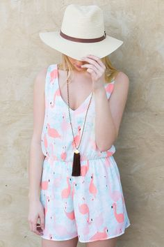 Flamingo Sleeveless