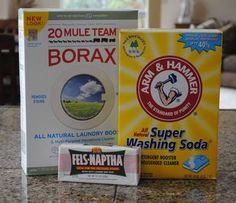 Make your own High Efficiency laundry detergent