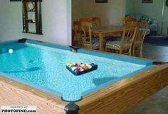 I like this pool table.