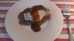 Easy Slow Cooker Mashed Potato Stuffed Meatloaf #5FIX. Photo by NurseJenni