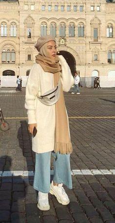 Modest fashion 807762883149048011 - Trendy fashion modest winter simple Source by elizabethfaze Modern Hijab Fashion, Street Hijab Fashion, Hijab Fashion Inspiration, Muslim Fashion, Modest Fashion, Trendy Fashion, Hijab Fashion Style, Fashion Ideas, Cheap Fashion
