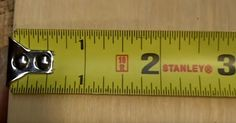 Have you ever wondered just why your tape measure looks the way it does? The little quirks are actually FEATURES designed to make your at-home measuring easier! Tape Measure Tricks, Tip Hero, Learn Woodworking, Woodworking Ideas, Helpful Hints, Handy Tips, Working Area, Wood Working, Good To Know
