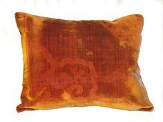 Embossed Silk Velvet Pillow