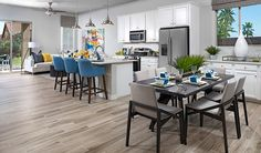 The contemporary new home in Laveen, AZ, was designed for entertaining | Onyx plan | Seasons Collection by Richmond American