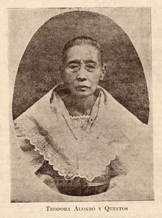 Teodora Alonzo mother of Jose Rizal died in her home in Manila. Pictures To Paint, Old Pictures, Old Photos, Vintage Photos, Filipino Art, Filipino Culture, Philippines Culture, Manila Philippines, Jose Rizal