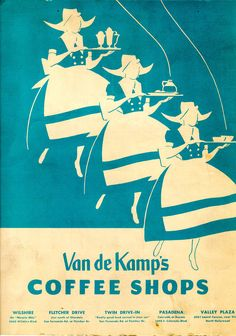Van de Kamp's Coffee Shops  June 8, 1957
