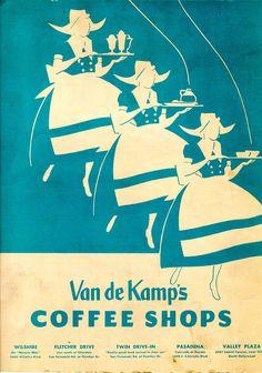 Van de Kamp's Coffee Shops  June 8, 1957