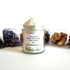 Lavender White Chocolate Drinking Chocolate by ALLSPICEEMPORIUM