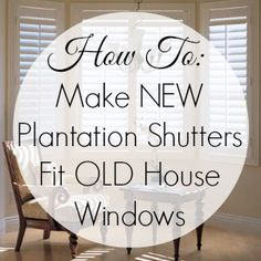 To Do List Update: Window Coverings