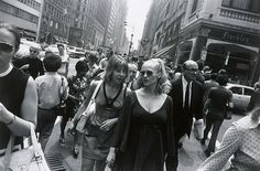 Untitled | Untitled Series: Women are Beautiful Edition: 37/80 Descriptive: [Two women near Finchley's] Garry Winogrand (United States, 1928-1984) United States, circa 1969, printed 1980 Photographs Gelatin silver print Image: 8 3/4 x 13 1/8 in via LACMA Collections