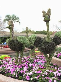 Topiaries: 2015 Epcot Flower and Garden Festival