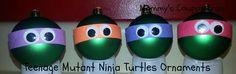 DIY ~ Teenage Mutant Ninja Turtles Ornaments!
