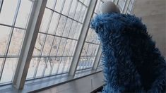 kurotsuchi-sterling:  scumbag-solas:  jhameia:  tonights aesthetic: Cookie Monster philosophizing in an art museum  This just changed my life.  The lasagne one has opened my eyes