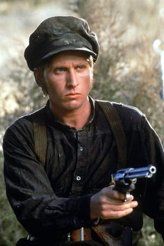 Emilio Estevez as Billy The Kid in 'Young Guns' Emilio Estevez, Sheen Family, Clint Walker, Billy The Kids, Charlie Sheen, Young Guns, Western Movies, Yesterday And Today, True Stories