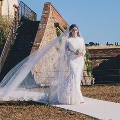 Kim Kardashian West and Kanye West's wedding album - Vogue Australia Kim Kardashian Wedding Dress, Celebrity Wedding Dresses, Celebrity Weddings, Wedding Gowns, Celebrity Style, Kim And Kanye, Kim Kardashian And Kanye, Kardashian Family, Kardashian Style