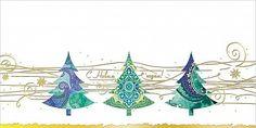 """Корпоративная открытка 0247.246 """"С Новым годом!"""" Ёлки зелёные"""