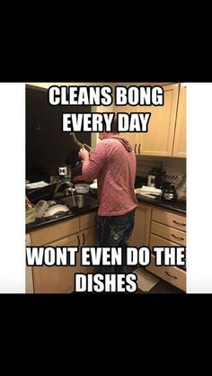 Bong cleaning problems. Bongs clean but dishes still there