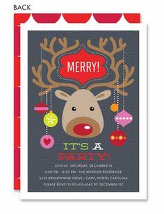 snowman christmas party invitation template christmas pinterest