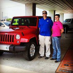 Mark & his BRAND NEW 2015 Jeep Wrangler Unlimited Sahara