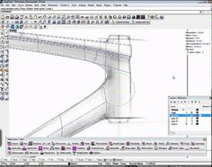 Build a bike frame using T-Splines for Rhino - YouTube