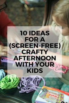 Ever feel daunted by the idea of craft time with your kids? You picture the trip to the craft store and the mess you're about to create at home? Check out eBay's guide to fun, approachable DIY projects to do with your kids that get them off their screens. Suggest an afternoon of friendship bracelet-making. All you need are embroidery floss and a safety pin. For a little art project, pick up some acrylic paint or even just Sharpies, and have your kids decorate some rocks. Read on for more…