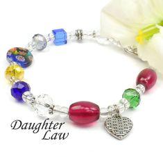 Daughter in Law Poem Bracelet