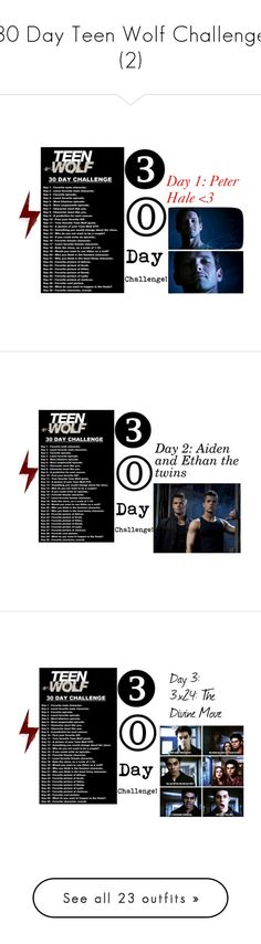 """30 Day Teen Wolf Challenge (2)"" by adorablequeen ❤ liked on Polyvore featuring Identity, Bebe and beauty"