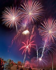 Calistoga's July 4th fireworks; spectacular. Photo: ChickHarrity