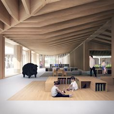 Gallery - Tradition and Modernity Come Together in Mecanoo and HS Architects' Proposal for the Longhua Art Museum and Library - 3