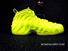 289ff972343 Nike Air Foamposite Pro Volt -Volt  Black