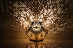 """Looking for some inspiration? The Cozo lamp will transform any room of yours into a zen sanctuary. """"COZO is inspired by the intersection of science, technology, art and design. We are artists that are sharing the wonder of geometry together with you."""" You can purchase one here."""