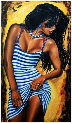 Love Being Black art Art Black Love, Black Girl Art, My Black Is Beautiful, Art Girl, African American Art, Native American Indians, Graffiti Kunst, Posters Vintage, Black Art Pictures