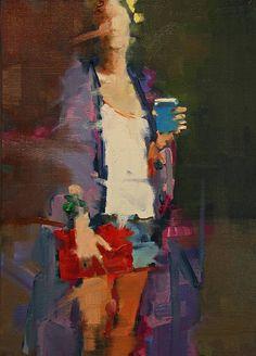 "Saatchi Art Artist: Fanny Nushka Moreaux; oil 2014 Painting ""Bright Sunny Day, 2014"""