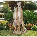 Kalahari Meerkat Statues: Into Hole - QL57082 - Design Toscano
