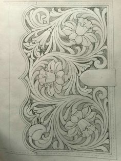 Book tracing pattern