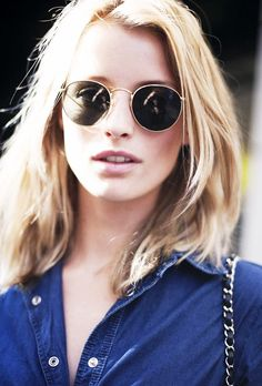 Are Wayfarers & Aviators Old News? Meet the New It-Style via @WhoWhatWear