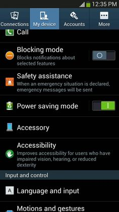 How To Access Settings On Samsung Galaxy S4 - Galaxy S4